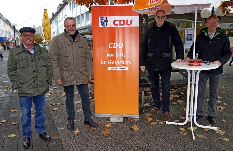CDU vor Ort im Gespräch
